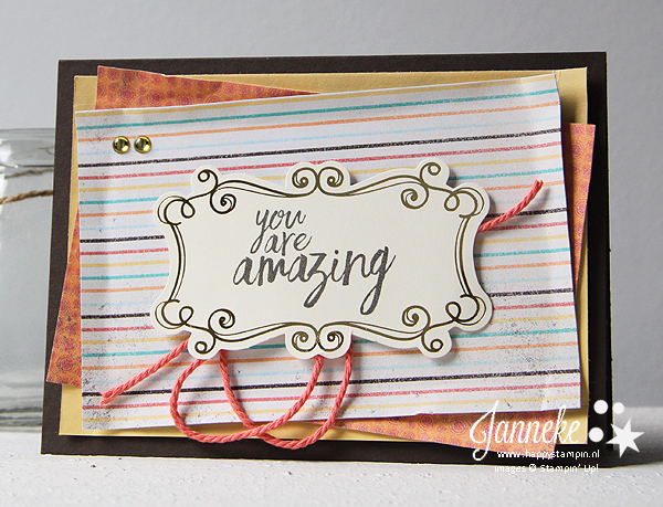 Happy Stampin' Stampin' Up! All things thanks