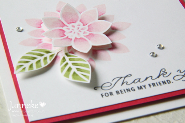 Stampin' Up! – Thank you for being my friend #GDP088