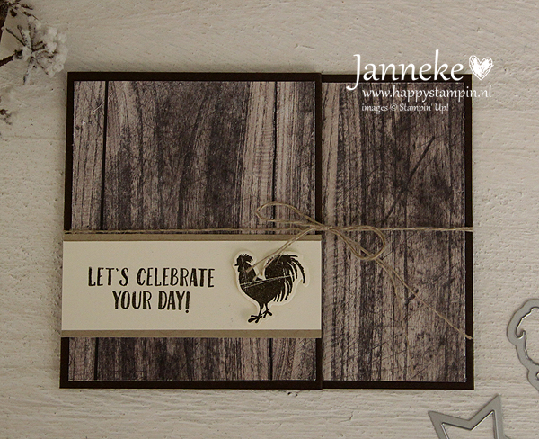 Happy Stampin' Stampin' Up! Gift Card