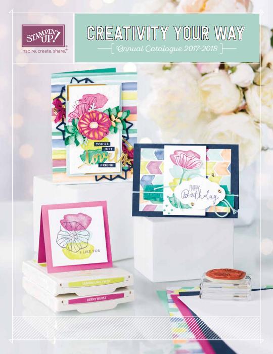 Stampin' Up! – Nieuwe catalogus ;-)