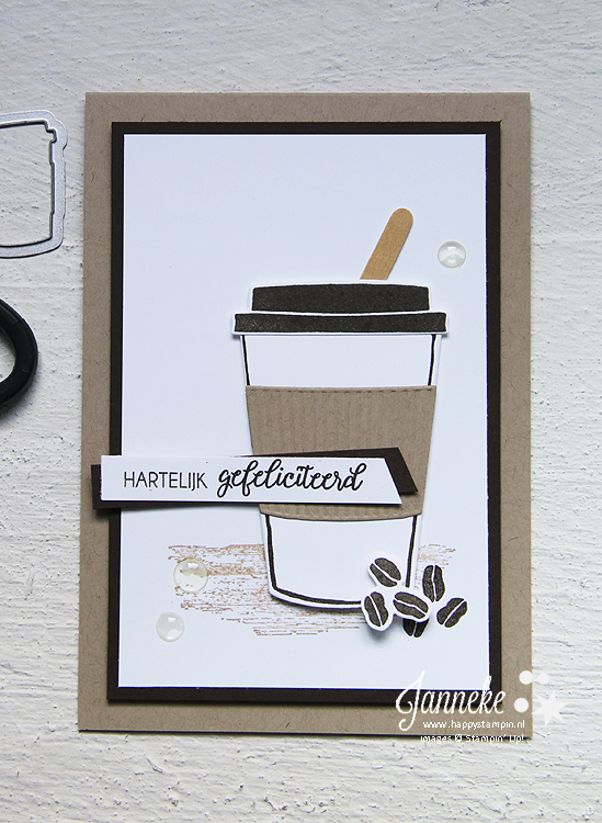 Happy Stampin' Stampin' Up! Coffee Café