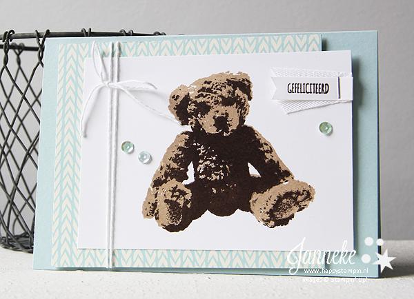 Stampin' Up! - Happy Stampin' - Baby Bear
