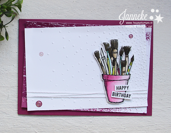Happy Stampin' Stampin' Up! Janneke de Jong Crafting Forever
