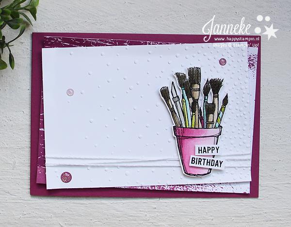 Happy Stampin' Stampin' Up! Janneke de Jong Crafting Forever