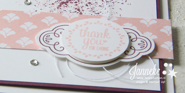 Stampin' Up! – Thank you for caring