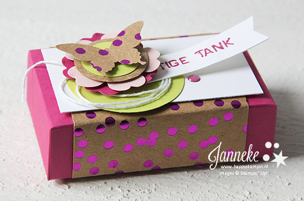 Stampin' Up! - Happy Stampin' - Enveloppe Punch Board