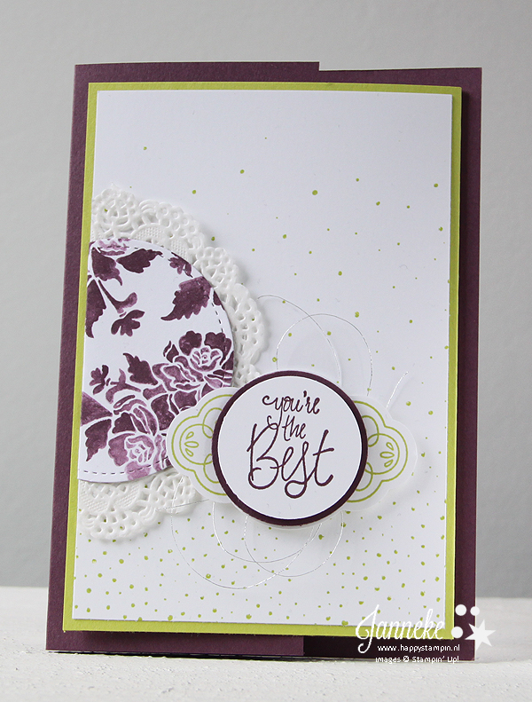 Happy Stampin' - Stampin' Up! - Label Me Pretty