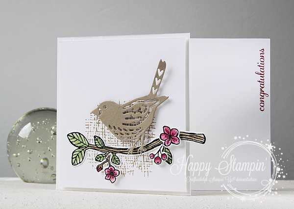 Stampin' Up! - Happy Stampin' - Janneke de Jong - Best Birds