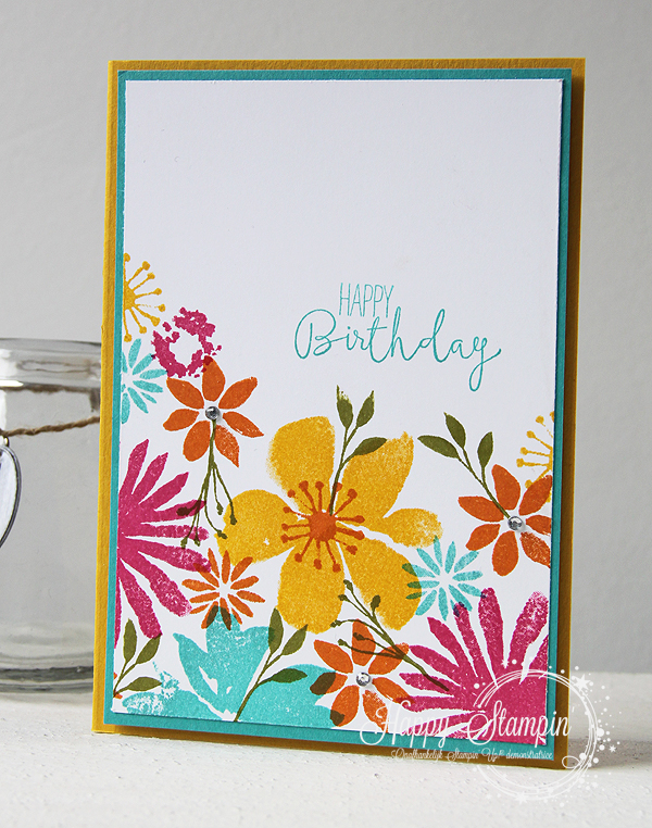 Stampin' Up! - Happy Stampin' - Blooms & Wishes