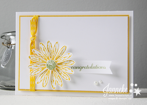 Stampin' Up! - Happy Stampin' - Janneke de Jong - Daisy