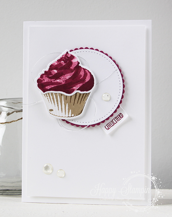 Stampin' Up! - Happy Stampin' - Sweet Cupcake