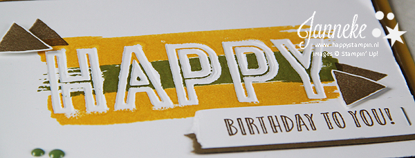 Stampin' Up! – Happy Birthday #GDP094