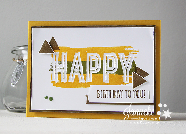 Stampin' Up! - Happy Stampin' - Janneke de Jong - Happy Celebrations