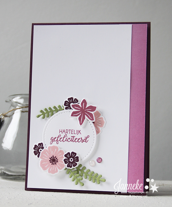 Stampin' Up! - Happy Stampin' - Boeket vol goede wensen