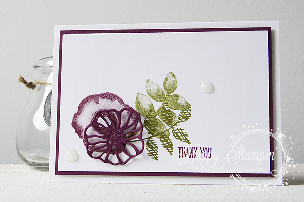 Stampin' Up! - Happy Stampin' - Janneke de Jong - Oh So Eclectic