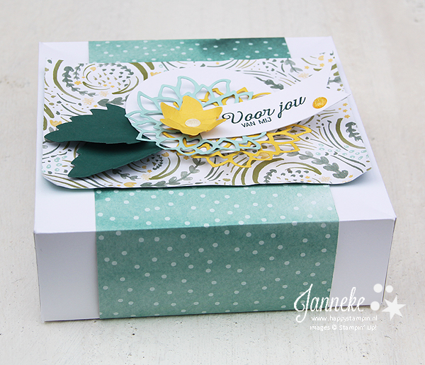 Stampin' Up! - Janneke de Jong - Happy Stampin' - Box - Envelope Punch Board