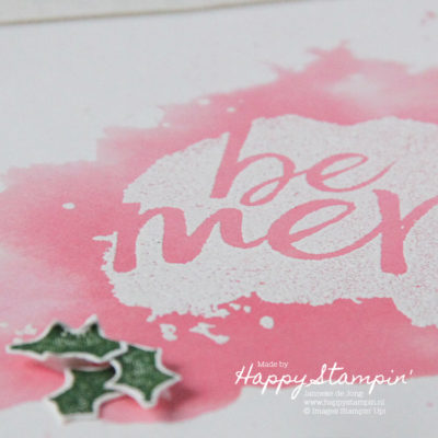 Stampin' Up! – Be Merry