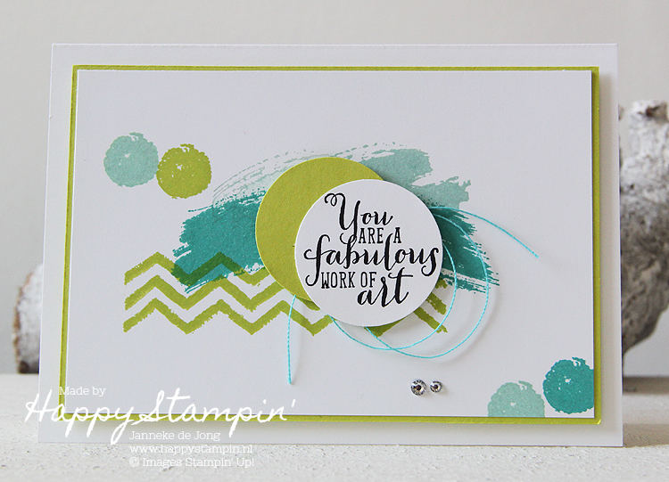 Stampin' Up! - Happy Stampin' - Janneke de Jong = Work of Art