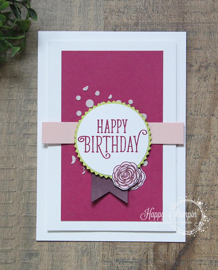 Stampin' Up! - Happy Stampin' - Janneke de Jong - Happy Birthday Gorgeous