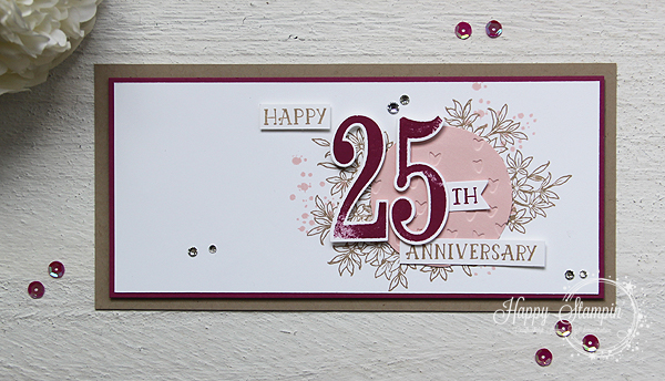 Stampin' Up! - Happy Stampin' - Janneke de Jong - Numbers of Years - Awesomely Artiscic