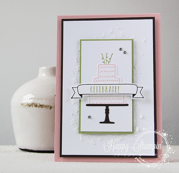 Stampin' Up! - Happy Stampin' - Janneke de Jong - Celebration Time