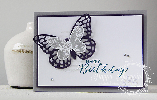 Stampin' Up! - Happy Stampin' - Basic Butterfly