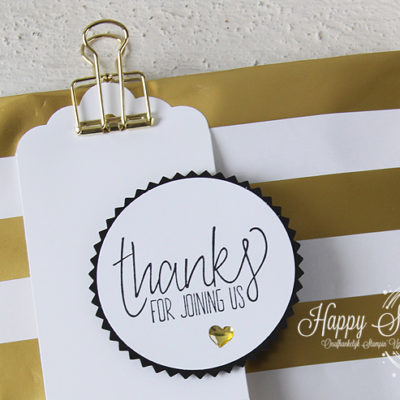 Stampin' Up! – Thanks for joining us