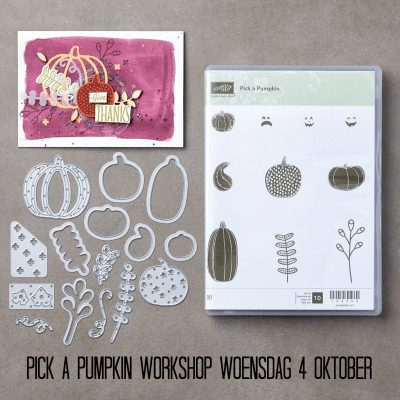 Stampin' Up! – Pick a Pumpkin workshop