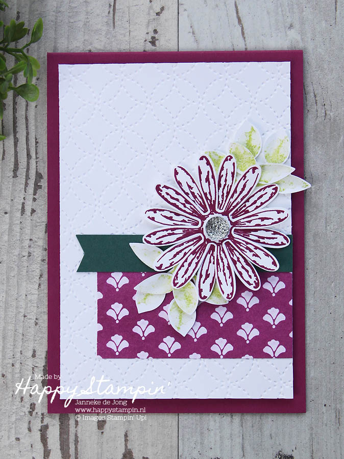 Stampin' Up! - Happy Stampin' - Janneke de Jong - GDP106