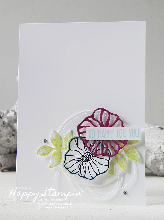 Stampin' Up! - Happy Stampin' Janneke de Jong - Oh So Eclectic
