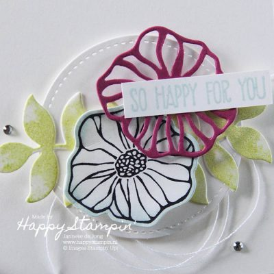 Stampin' Up! – CAS on Friday 'Die cut'