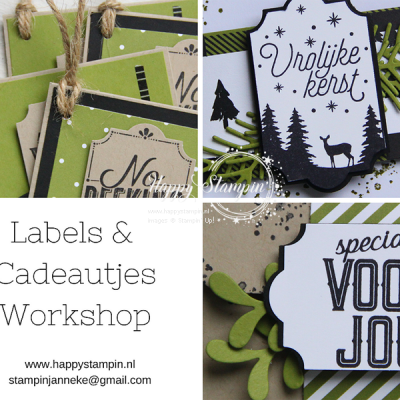 Stampin' Up! – Labels & Cadeautjes workshop