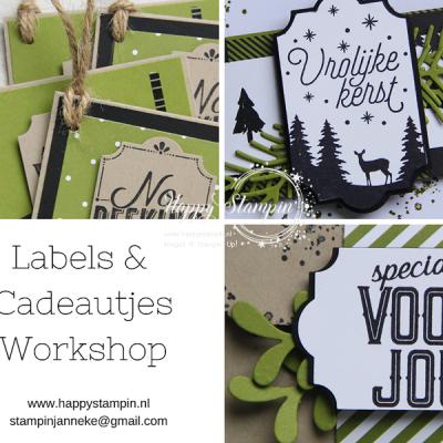 Stampin' Up! – Labels & Cadeautjes workshop
