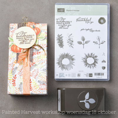 Stampin' Up! – Painted Harvest workshop