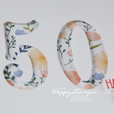 Stampin' Up! – 50 Happy Birthday