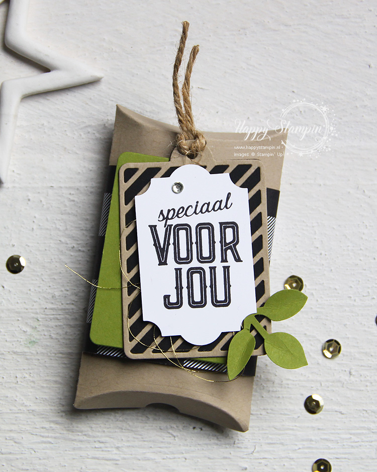Stampin' Up! - Happy Stampin' - Janneke de Jong - Speciaal voor jou - Decemberlabels
