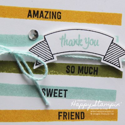 Stampin' Up! – Thank you sweet Friend