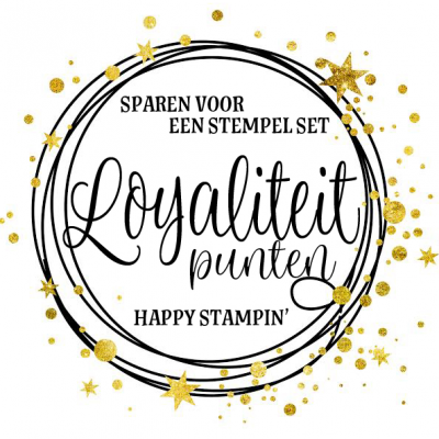 Happy Stampin' – Spaar systeem
