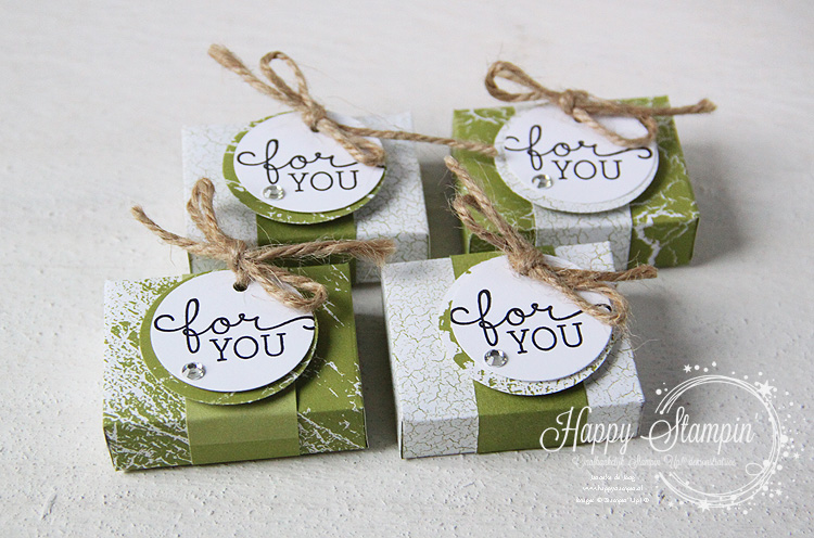 Stampin' Up! - Happy Stampin' - Janneke de Jong - Giftbox