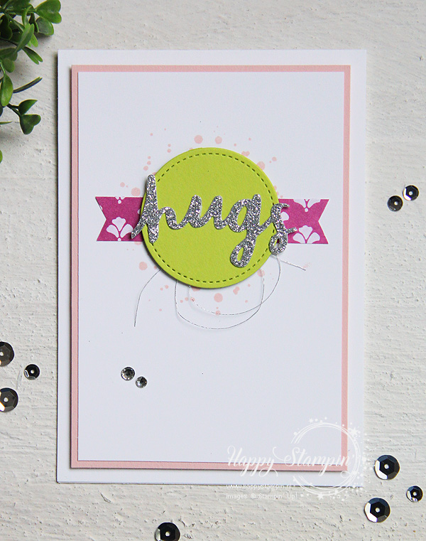 Stampin' Up! - Happy Stampin' - Janneke de Jong - Hugs