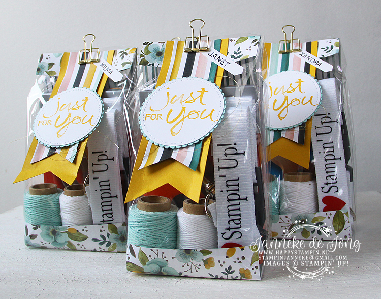 Stampin' Up! - Happy Stampin' - Janneke de Jong - On Stage 2017 - Team gift