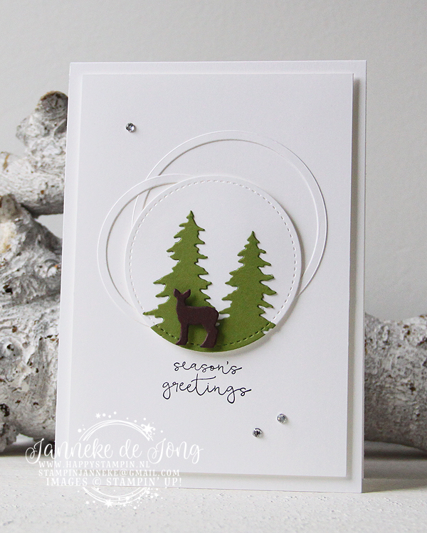 Stampin' Up! - Happy Stampin' - Janneke de Jong - Seasons Greetings