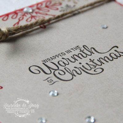 Stampin' Up! – Wrapped in the Warmth of Christmas
