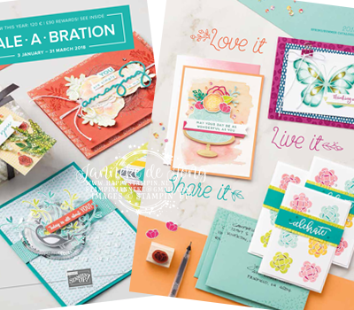 Stampin' Up! – Lente / zomer catalogus & Sale A Brations