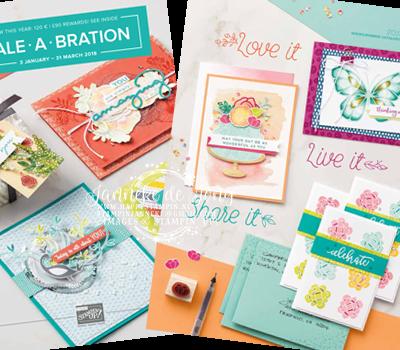 Stampin' Up! – Bestellen & lente / zomer catalogus