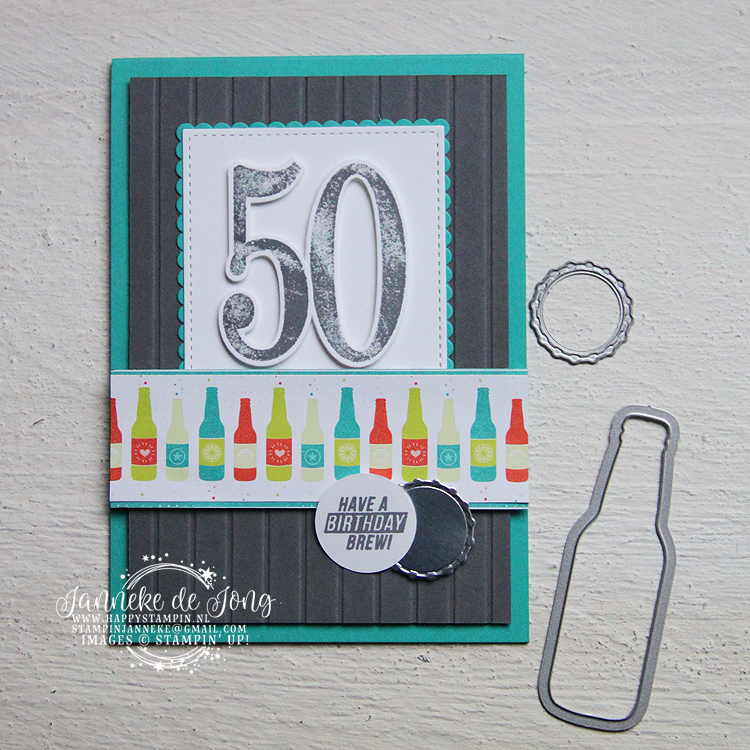Stampin' Up! - Happy Stampin' - Janneke de Jong - Large Numbers