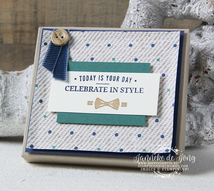 Stampin' Up! - Happy Stampin' - Janneke de Jong - Truly Tailored