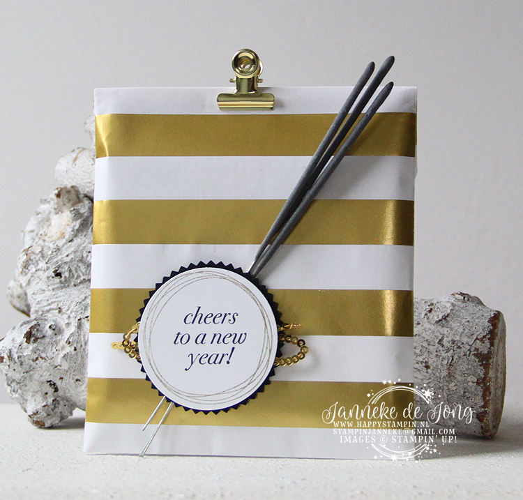 Stampin' Up! - Happy Stampin' - Janneke de Jong - Cheers to a new year