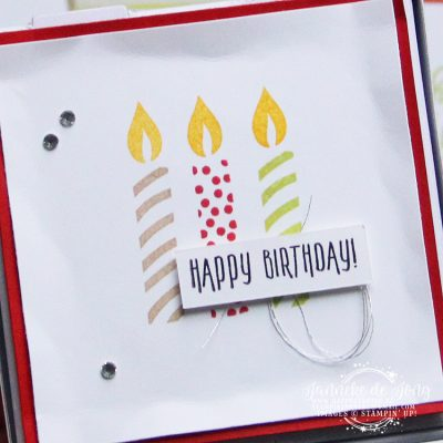 Stampin' Up! – Happy Birthday #GDP117