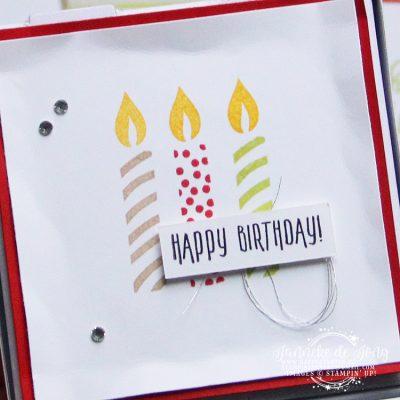 Stampin' Up! – Happy Birthday #GDP117